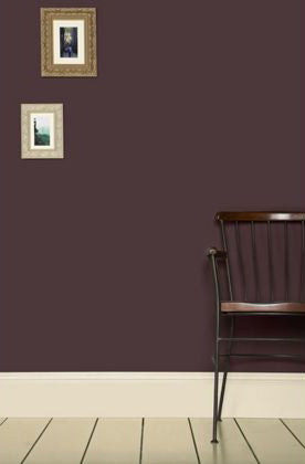 Brinjal by Farrow & Ball. Image Courtesy of Farrow & Ball