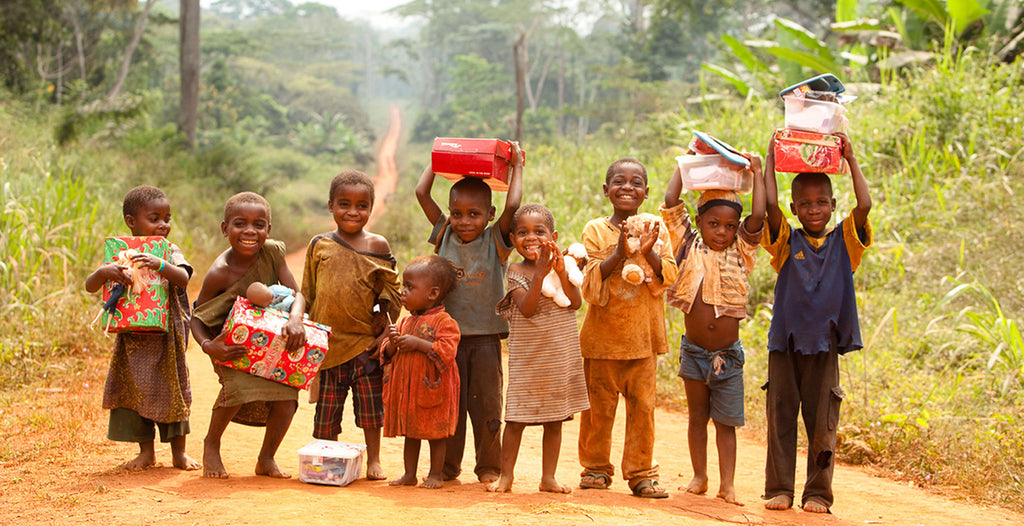 Operation Christmas in Cameroon - Picture from Plain target Marketing