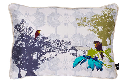 Esplanade The Clearing African prints Silk cushion