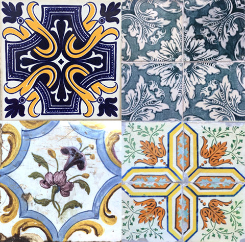 Azulejos Tiles from Lisbon