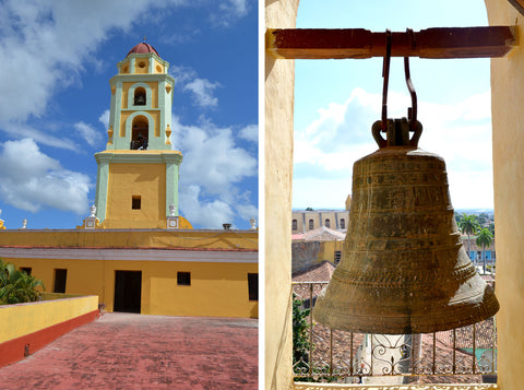 Trinidad Bell and church in Cuba