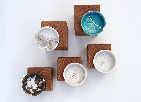 Tealight Holders & Bases by Yen Chen Ya Wen Studio