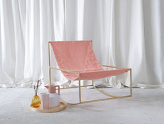 First Rocking Chair Pink Muller Van Severen