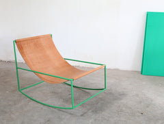 First Rocking Chair by Muller Van Severen green