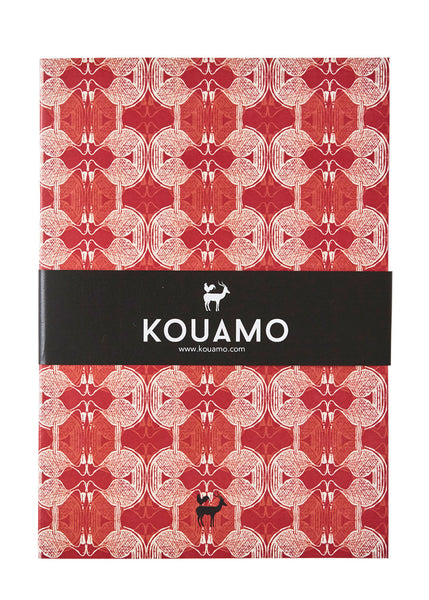 Kouamo - Babbler Lined Pages Printed Notebook (Ferrous) - Kouamo / No Gift wrapping / Default - 1