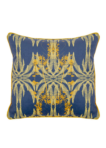 Jutias cushion Bathed in Sun Yellow and Blue