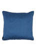 Kouamo - Trinidad Silk Cushion (Blue Quench) back silk cover