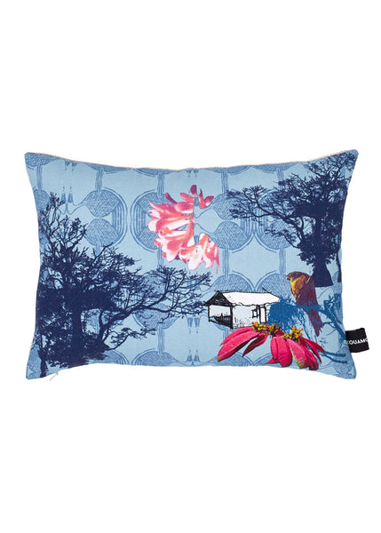 Kouamo - Esplanade Cushion (Blue sky at dawn) - 30 x40 cm - 1