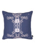 Kouamo - Trinidad Linen Cushion (Distant Blue)