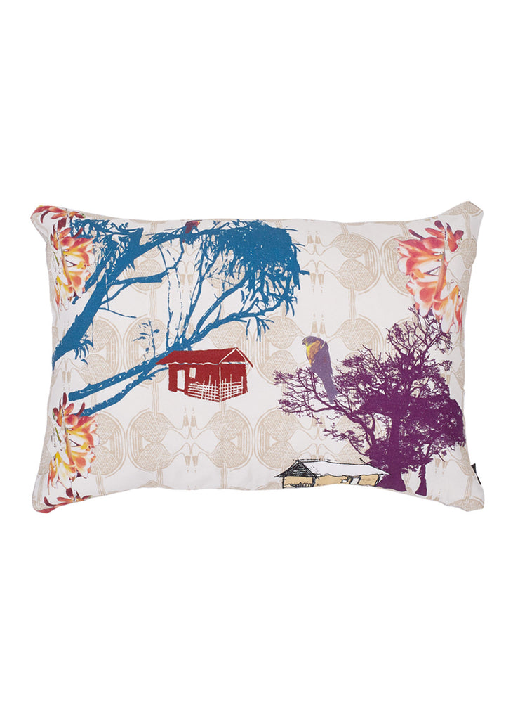 Esplanade Cotton Cushion (In the Shade) 40 x 60cm