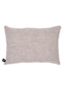 Esplanade Cotton Cushion (In the Shade) natural linen back