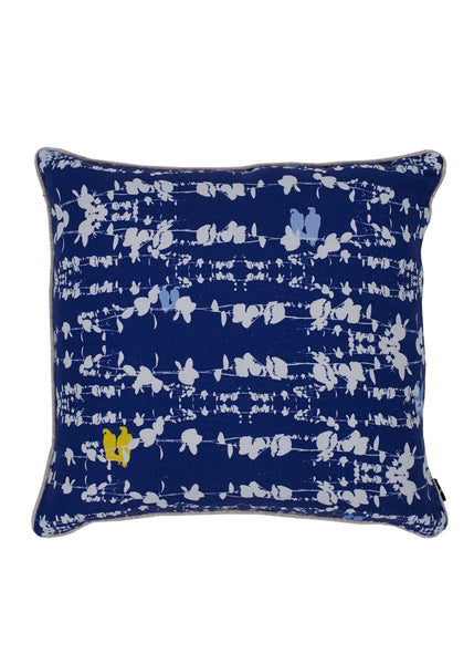 Bamena Blue linen Cushion (First Sun in the Blue)