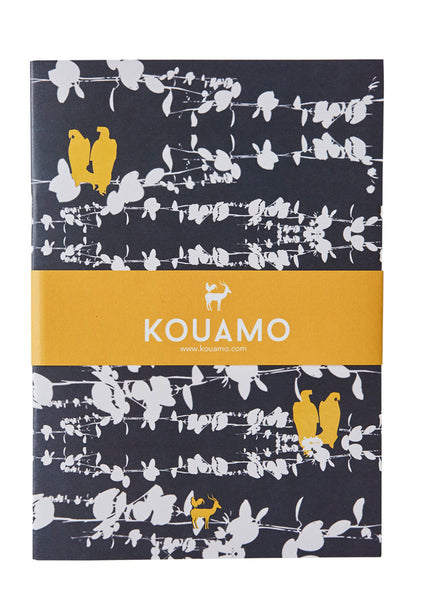 Kouamo - Bamena Printed Notebook (Velvet Night)