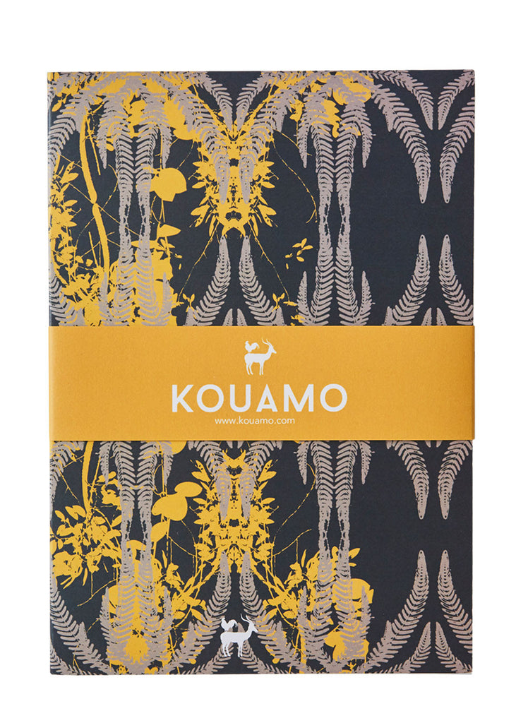 Kouamo - Jutias Printed Notebook (Night Sea) - Kouamo / Lined Pages / Default - 1