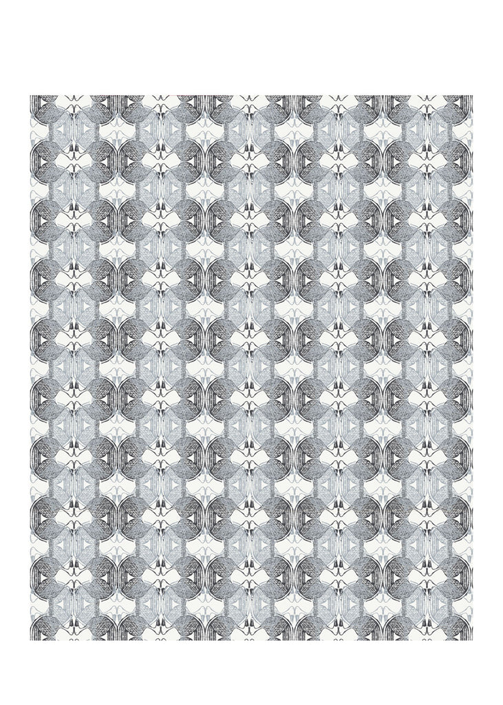 Kouamo Babbler wallpaper In the Quiet black and white african inspired
