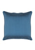Kouamo - Jutias Silk Cushion (Night Sea) Duppion Silk back