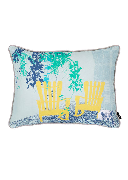 Kouamo - Juan y Pitin Cushion (Sun Soaked) -  - 1