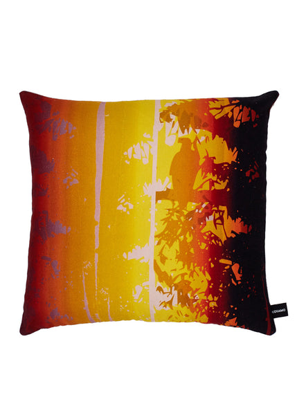 Kouamo - Exotic Vine Cushion (Sunset) -  - 1