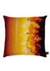 Kouamo Exotic Vine Cotton Cushion (Sunset)