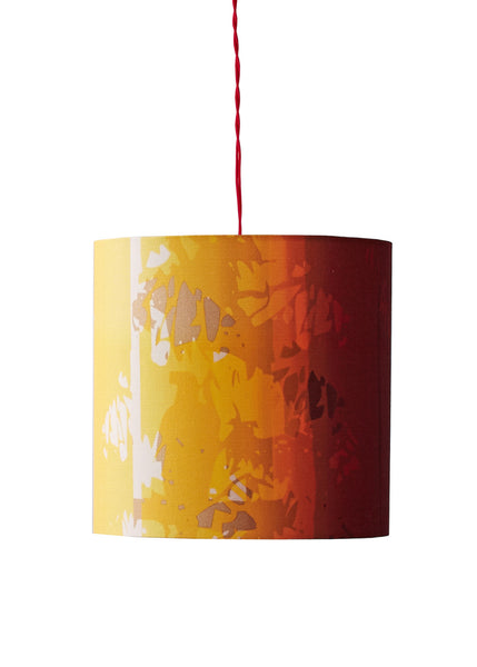 Kouamo - Exotic Vine Lampshade (Sunset) - 25x25 cm / Ceiling base - 1