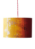Kouamo - Exotic Vine Lampshade (Sunset) - 25x41 cm / Ceiling base - 4