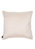Bamena White Duppion Silk 45 x 45cm cushion