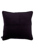 Bamena Dark Grey Velvet Cotton Velvet back 45 x 45cm