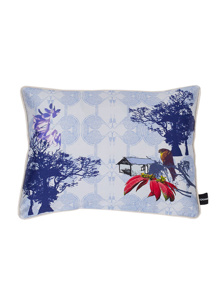 Kouamo - Esplanade Cushion (Warm Blue) -  - 1