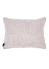 Kouamo - Juan y Pitin Pink Linen Cushion (Warm Welcome) Back Linen