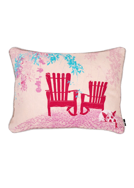 Kouamo - Juan y Pitin Cushion (Warm Welcome) -  - 1