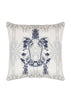 Kouamo - Jutias Silk Cushion (White Sands)