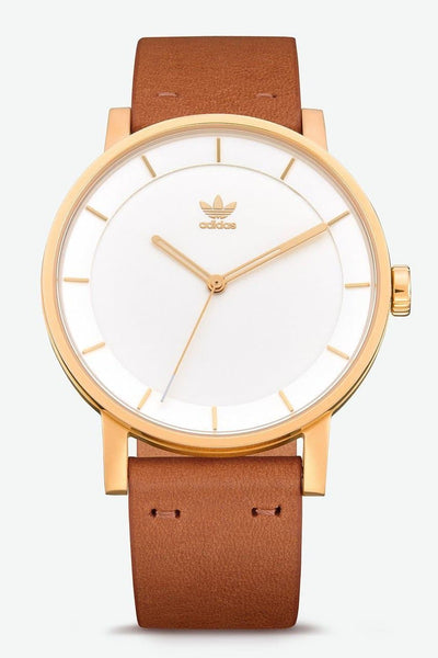 ADIDAS ORIGINALS WATCHES ADIDAS ORIGINALS DISTRICT L1 - GOLD/ CREAM/ TAN