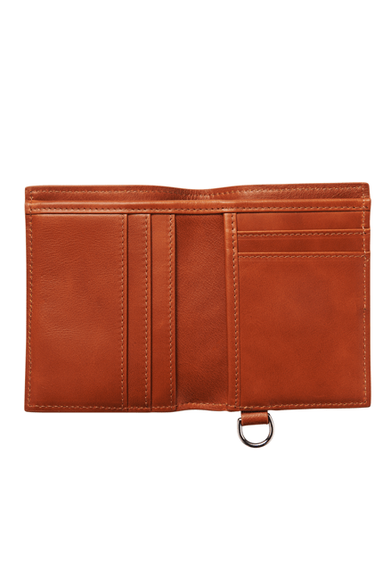 ATLAS LIFESTYLE CO WALLET ATLAS LEATHER WALLET 04 - TAN