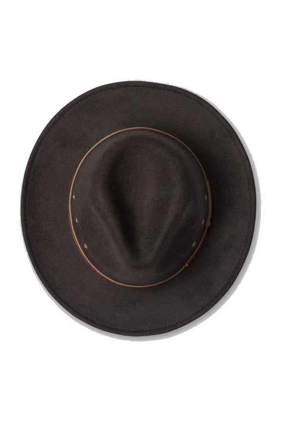 BILLY BONES CLUB HEADWEAR BILLY BONES CLUB BROWN SUGAR FEDORA - BROWN