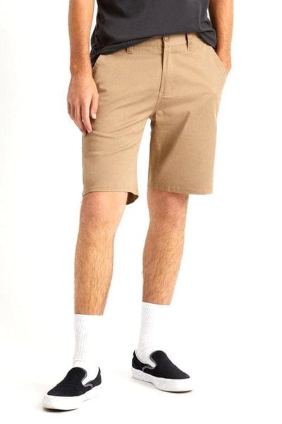 BRIXTON SHORTS BRIXTON CHOICE CHINO SHORT - KHAKI