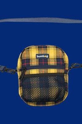 BUMBAG BAGS Default Title BUMBAG BAGPIPE SHOULDER BAG - YELLOW PLAID