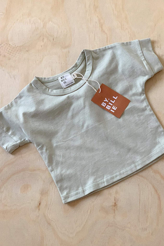 BY BILLIE KIDS SHORTS BY BILLIE PLAY TOP - SAGE