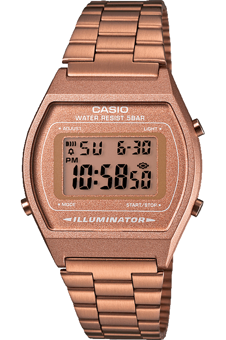 CASIO WATCHES CASIO VINTAGE ILLUMINATOR - ROSE GOLD