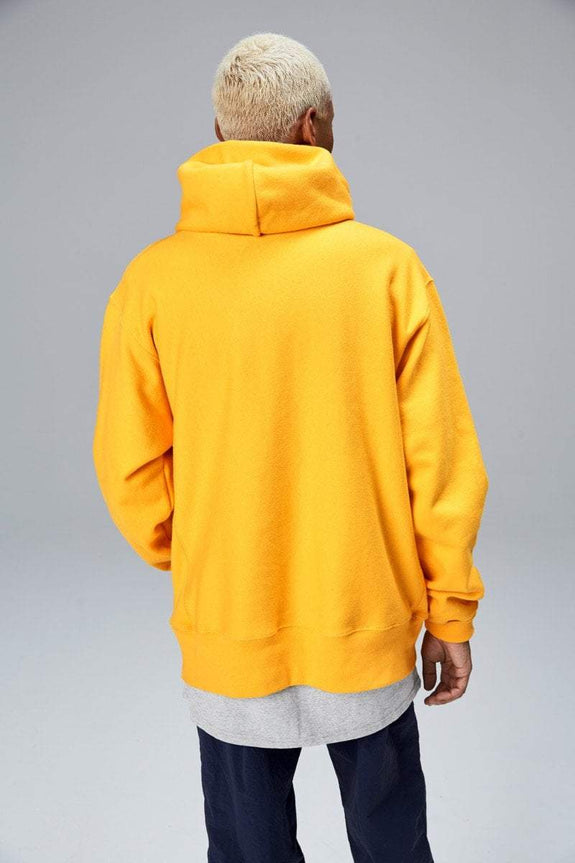 CHAMPION HOODIES CHAMPION REVERSE WEAVE UNISEX HOODIE - GOLD