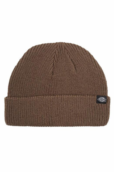DICKIES BEANIES DICKIE SEATTLE BEANIE - ASH BROWN