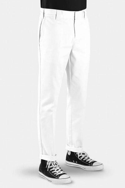 DICKIES PANTS DICKIES 872 SLIM TAPER PANT - WHITE
