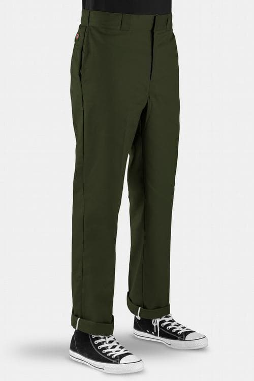 DICKIES PANTS 28 DICKIES ORIGINAL 874 TRADITIONAL - OLIVE GREEN *PRE ORDER