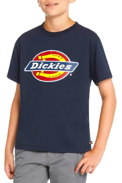DICKIES PANTS DICKIES YOUTH TEE - NAVY