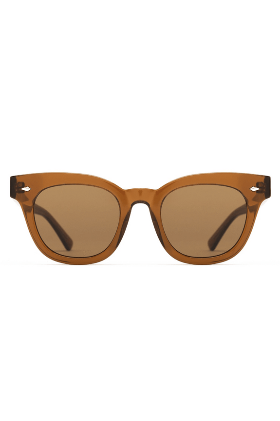 EPOKHE SUNGLASSES EPOKHE DYLAN ZERO - TOBACCO POLISHED/BRONZE