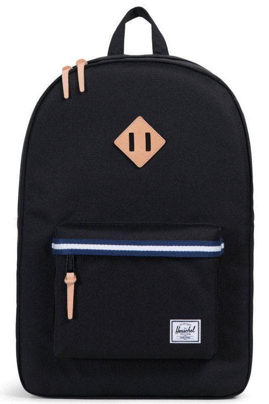 HERSCHEL TRAVEL HERSCHEL HERITAGE - BLACK/BLUEPRINT/WHITE