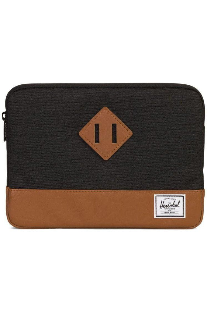HERSCHEL TRAVEL HERSCHEL HERITAGE IPAD AIR SLEEVE - BLACK/TAN