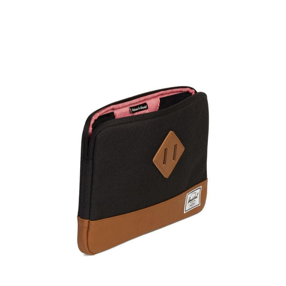 HERSCHEL TRAVEL HERSCHEL HERITAGE LAPTOP SLEEVE 13 INCH - BLACK/TAN