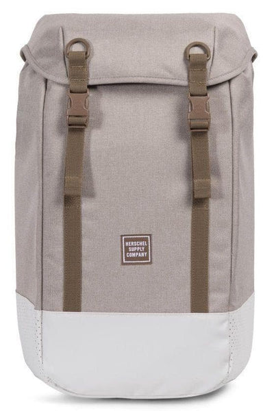 HERSCHEL TRAVEL HERSCHEL IONA - LIGHT KHAKI CROSSHATCH/SILVER BIRCH/CUB