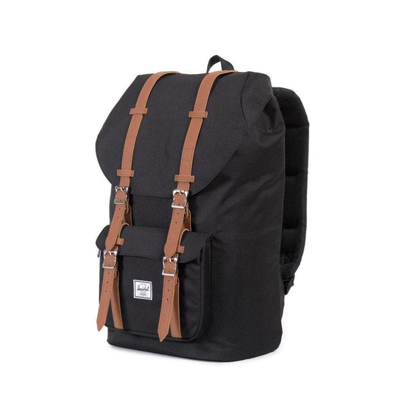 HERSCHEL TRAVEL HERSCHEL LITTLE AMERICA - BLACK/TAN