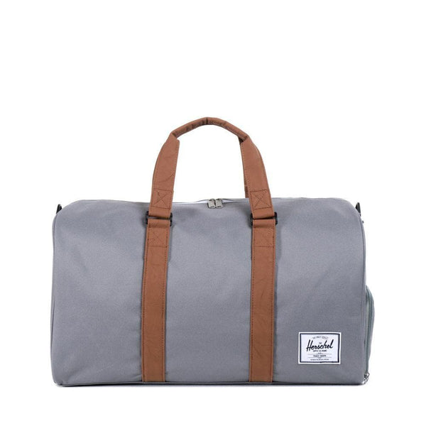 HERSCHEL TRAVEL HERSCHEL NOVEL DUFFLE - GREY/TAN
